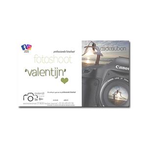 cadeaubon Valentijn fotoshoot 1u