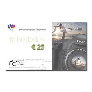 waardebon 25 euro