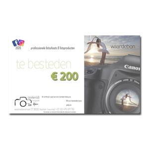 waardebon 200 euro