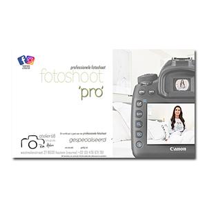 fotoshoot PRO (pakket)