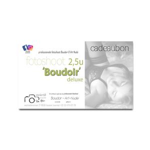cadeaubon fotoshoot Boudoir Deluxe  2,5u